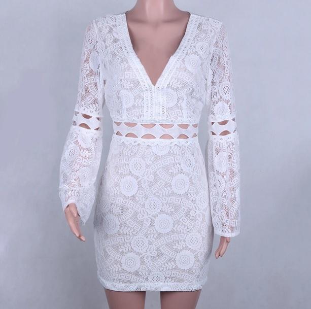 бохо къса рокля