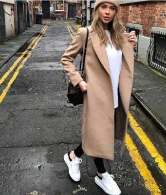 Маратонки с палто